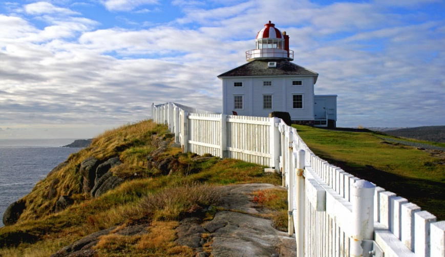 Cape Spear - the easternmost point in North America.