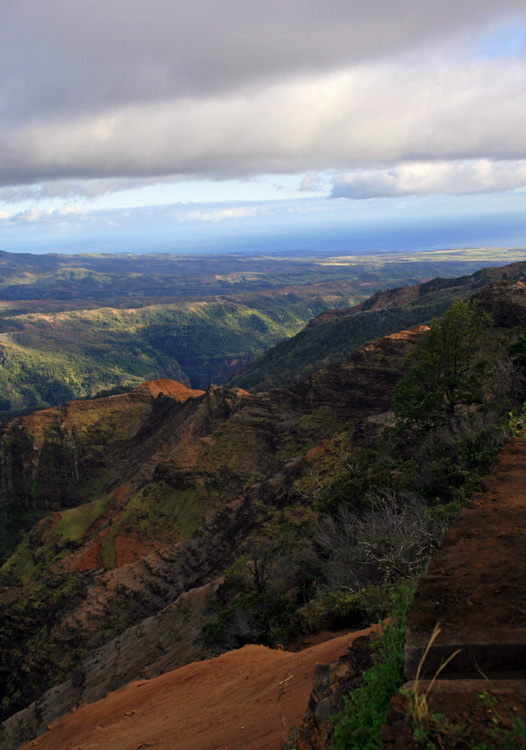The amazing vistas of Waimea Canyon alone are worth the trek to Kaui's western flank.