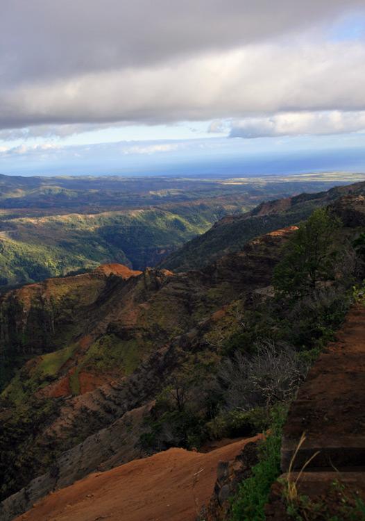 The amazing vistas of Waimea Canyon alone are worth the trek to Kaui's western flank.
