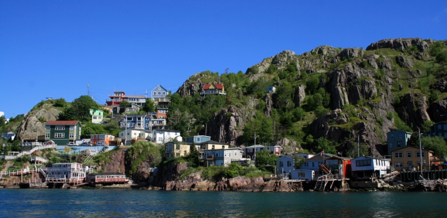 Our final day of the tour began with a boat tour out of St. John's harbour ... passing the iconic Battery along the way.