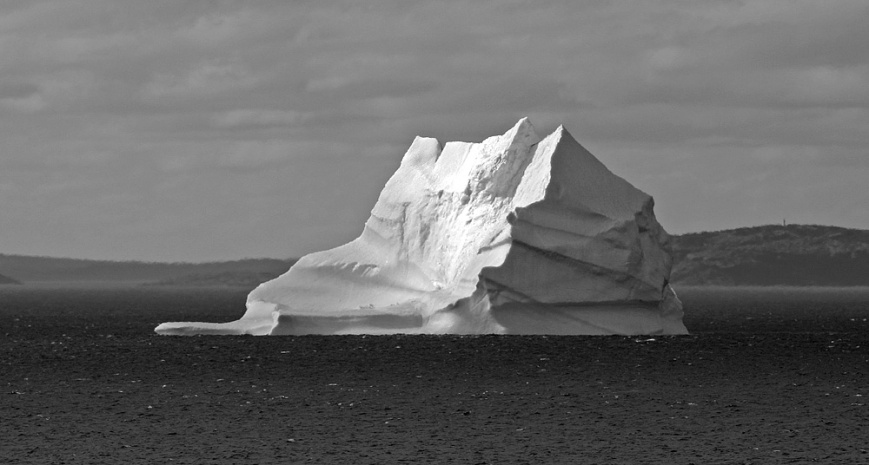 ... and, of course, icebergs were one of the main attractions.