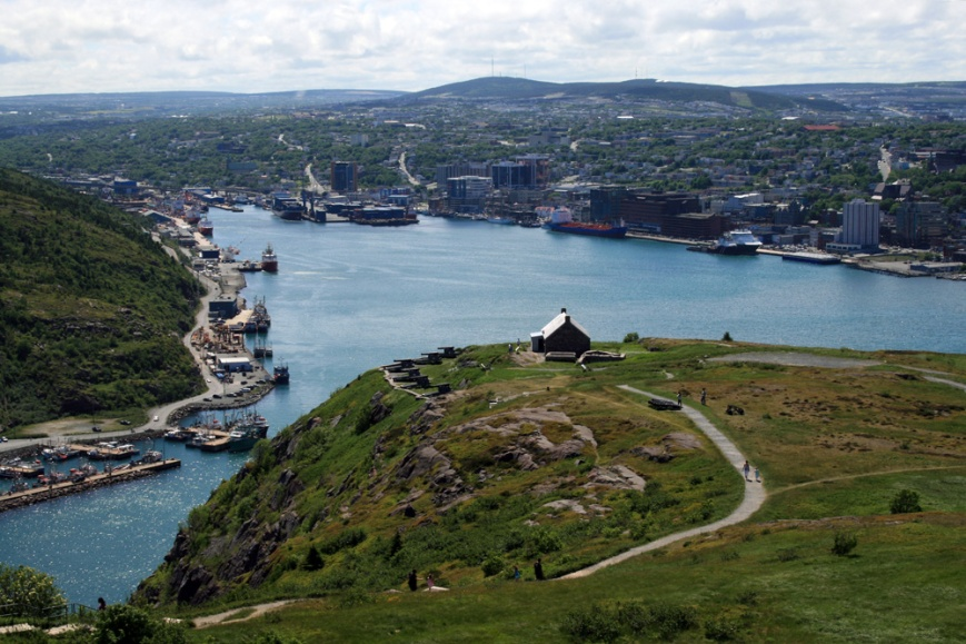 Our tour began & ended in North America' oldest city. There's never a lack of things to do in St. John's.