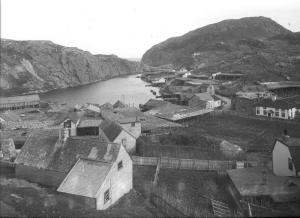 This vintage (though undated) photo shows an historic part of St. John's, with Mallard Cottage on the right. That building, one of the oldest wooden structures in North America, is now home to a fabulous restaurant that was recently named on of the Top New Restaurants in Canada!
