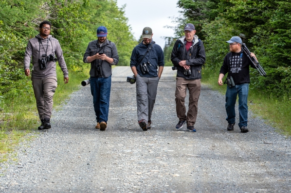 Birding in July 2019 with Jason Ward, Nick Lund, Nate Swick & Ted Floyd